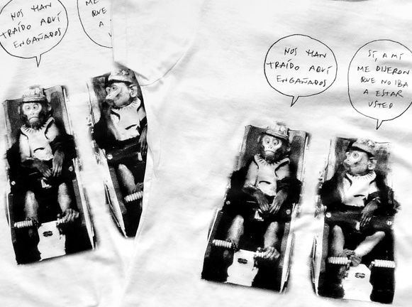 Menos monos - Camiseta - Sistema de Monos