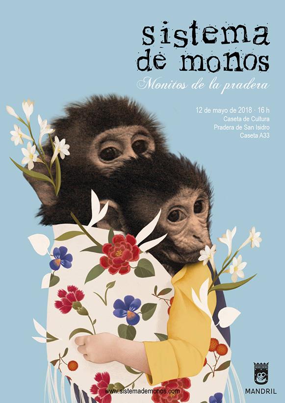 Monitos de la Pradera - Pradera de San Isidro - Madrid - 12-may-2018 - Sistema de Monos