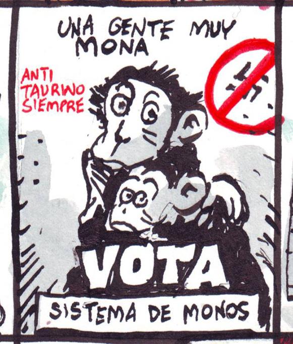 Sistema de Monos en El Jueves - Azagra y Revuelta
