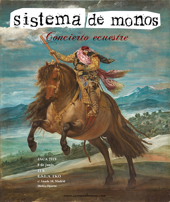 Concierto ecuestre - JACA - EKO - Madrid - 8-jun-2019 - Sistema de Monos